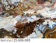 Купить «Macro texture of nature - onyx», фото № 25606089, снято 22 июля 2019 г. (c) ElenArt / Фотобанк Лори