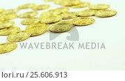 Leprechauns gold on white background for st patricks. Стоковое видео, агентство Wavebreak Media / Фотобанк Лори