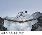 Купить «Overcoming fear of failure . Mixed media . Mixed media», фото № 25611989, снято 9 февраля 2007 г. (c) Sergey Nivens / Фотобанк Лори