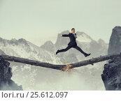 Купить «Overcoming fear of failure . Mixed media . Mixed media», фото № 25612097, снято 9 февраля 2007 г. (c) Sergey Nivens / Фотобанк Лори