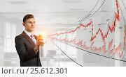 Купить «Dynamics of monetary funds . Mixed media», фото № 25612301, снято 21 сентября 2019 г. (c) Sergey Nivens / Фотобанк Лори