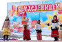 Детский фольклорный ансамбль на празднике Масленицы. Город Малоярославец, Калужская область, фото № 25614805, снято 25 февраля 2017 г. (c) Илюхина Наталья / Фотобанк Лори