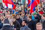 Алексей Навальный со сторонниками на марше в память о Борисе Немцове 26 февраля 2017 года, эксклюзивное фото № 25616541, снято 26 февраля 2017 г. (c) Алексей Шматков / Фотобанк Лори