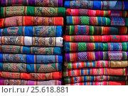 Купить «Rugged Peruvian textile», фото № 25618881, снято 7 октября 2016 г. (c) AK Imaging / Фотобанк Лори
