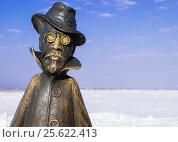 Купить «Томск. Памятник Чехову», фото № 25622413, снято 26 февраля 2017 г. (c) Павел Сапожников / Фотобанк Лори