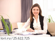 Friendly HR manager. Our cooperation will lead to success. Стоковое фото, фотограф VictorStudio / Фотобанк Лори