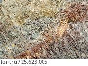 Купить «Фон из слоев горных пород», фото № 25623005, снято 7 августа 2012 г. (c) Акоп Васильян / Фотобанк Лори