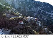 Скит святой Анны , Афон, Греция. Стоковое фото, фотограф Николай Гусев / Фотобанк Лори