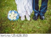 Букет невесты. Стоковое фото, фотограф Надежда Стрельцова / Фотобанк Лори