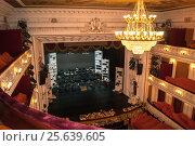 Купить «Зал и сцена Пермского театра оперы и балета», фото № 25639605, снято 16 ноября 2018 г. (c) Дмитрий Чемерик / Фотобанк Лори