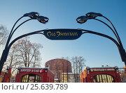 Купить «Сад Эрмитаж в Москве», эксклюзивное фото № 25639789, снято 20 декабря 2016 г. (c) Елена Коромыслова / Фотобанк Лори