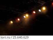 Купить «Сценические огни. Софиты. Концертное освещение», фото № 25640629, снято 26 февраля 2016 г. (c) Евгений Ткачёв / Фотобанк Лори