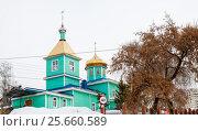 Кафедральный Собор Сергия Радонежского в городе Уфе. Стоковое фото, фотограф Сергей Тагиров / Фотобанк Лори