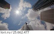 Купить «Rotating Timelapse View On Singapore City Skyscrapers», видеоролик № 25662477, снято 18 июня 2019 г. (c) Кирилл Трифонов / Фотобанк Лори