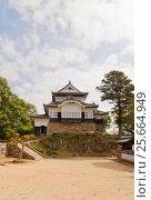 Купить «Замок Биттю Мацуяма (17 в.), г. Такахаси. Один из 12 сохранившихся замков в Японии», фото № 25664949, снято 20 июля 2016 г. (c) Иван Марчук / Фотобанк Лори