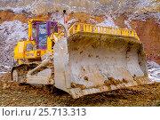 Купить «Бульдозер», фото № 25713313, снято 23 ноября 2011 г. (c) Хайрятдинов Ринат / Фотобанк Лори