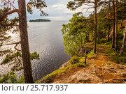 Купить «Остров Валаам, Ладожское озеро. Карелия.», фото № 25717937, снято 16 февраля 2020 г. (c) Igor Lijashkov / Фотобанк Лори