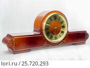 Mantel clock. Стоковое фото, фотограф Михаил Степанов / Фотобанк Лори