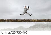 Купить «Overcome fear of failure . Mixed media . Mixed media», фото № 25730405, снято 25 мая 2019 г. (c) Sergey Nivens / Фотобанк Лори