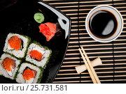Sushi set. Стоковое фото, фотограф Валерия Лузина / Фотобанк Лори