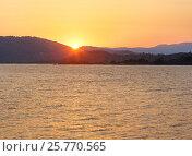 Купить «Sunset Aegean sea coast (Chalkidiki, Greece)», фото № 25770565, снято 22 июля 2016 г. (c) Юрий Брыкайло / Фотобанк Лори