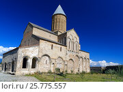 Купить «Alaverdi Monastery in the Alazani valley. Kakheti region. Georgia», фото № 25775557, снято 18 сентября 2016 г. (c) Elena Odareeva / Фотобанк Лори