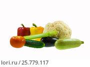 Овощной натюрморт. Стоковое фото, фотограф Александр Корнейчев / Фотобанк Лори