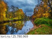 Осенний пейзаж. Стоковое фото, фотограф Elena Kucherenko / Фотобанк Лори