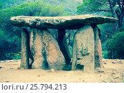 Купить «Pedra Gentil megalith», фото № 25794213, снято 9 октября 2016 г. (c) Яков Филимонов / Фотобанк Лори