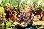 Woman working on winery yard, фото № 25794469, снято 21 марта 2017 г. (c) Яков Филимонов / Фотобанк Лори