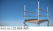 Купить «Composite image of three dimension image of scaffolding 3d», фото № 25808489, снято 17 июня 2019 г. (c) Wavebreak Media / Фотобанк Лори