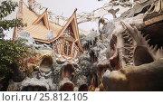 Купить «Hang Nga Guesthouse Crazy House, design Interior and Exterior landmark architecture Odd House», видеоролик № 25812105, снято 1 октября 2016 г. (c) Mikhail Davidovich / Фотобанк Лори