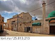 Купить «Церковь Святого Великомученика Георгия в городе Лод (Лидда), Израиль», фото № 25813213, снято 13 мая 2014 г. (c) Александр Гаценко / Фотобанк Лори
