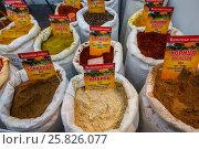 Купить «Мешки со специями», фото № 25826077, снято 19 марта 2017 г. (c) Акиньшин Владимир / Фотобанк Лори