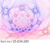 Abstract fractal image. Стоковая иллюстрация, иллюстратор Helga Preiman / Фотобанк Лори