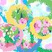 Декоративный узор, цветочная поляна, фон, иллюстрация № 25835841 (c) Наталия Кузнецова / Фотобанк Лори