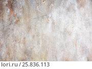 Купить «Ragged wall with ckracked plaster», фото № 25836113, снято 17 сентября 2015 г. (c) Losevsky Pavel / Фотобанк Лори