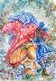 Алиса и Синяя Гусеница, иллюстрация № 25855029 (c) Анастасия Сердюкова / Фотобанк Лори