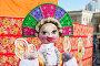 Масленица в России. Большая кукла для сжигания на традиционном карнавале, фото № 25860205, снято 26 февраля 2017 г. (c) FotograFF / Фотобанк Лори