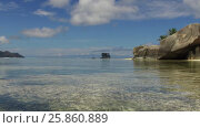 Купить «african island beach in indian ocean», видеоролик № 25860889, снято 13 марта 2017 г. (c) Syda Productions / Фотобанк Лори