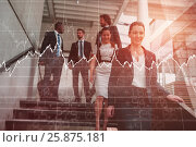 Купить «Composite image of stocks and shares», фото № 25875181, снято 18 октября 2018 г. (c) Wavebreak Media / Фотобанк Лори