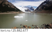 Купить «Spectacular view on Fitz Roy Mount of the Southern Patagonian Ice Field in Argentina», видеоролик № 25882677, снято 9 марта 2017 г. (c) Яков Филимонов / Фотобанк Лори