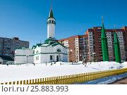 """Мечеть """"Хамза"""" в городе Уфе. Стоковое фото, фотограф Сергей Тагиров / Фотобанк Лори"""