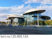 Купить «Public Service Hall in Tbilisi Georgia», фото № 25905133, снято 22 сентября 2016 г. (c) Elena Odareeva / Фотобанк Лори