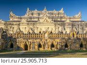 Купить «Maha Aungmye Bonzan Monastery complex, Inwa, Mandalay Region, Burma», фото № 25905713, снято 8 июля 2020 г. (c) BE&W Photo / Фотобанк Лори