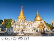 Купить «Maha Aung Mye Bom San Monastery complex, Inwa, Mandalay Region, Burma», фото № 25905721, снято 8 июля 2020 г. (c) BE&W Photo / Фотобанк Лори