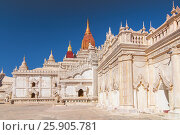 Купить «Ananda temple , Beautiful temple in Bagan , Myanmar», фото № 25905781, снято 27 мая 2019 г. (c) BE&W Photo / Фотобанк Лори
