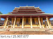Купить «Wat Si Saket, Vientiane, Laos, Indochina, Southeast Asia, Asia», фото № 25907077, снято 25 мая 2019 г. (c) BE&W Photo / Фотобанк Лори