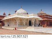 Jama Masjid mosque, Tomb of Sheikh Salim Chishti, Fatehpur Sikri, India. Стоковое фото, агентство BE&W Photo / Фотобанк Лори