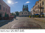 Купить «Cathedral Basilica of the Assumption of the Blessed Virgin Mary and St. Adalbert, Gniezno, Poland.», фото № 25907645, снято 19 марта 2019 г. (c) BE&W Photo / Фотобанк Лори
